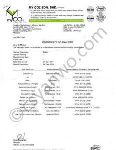 燕窝产品标注检验报告